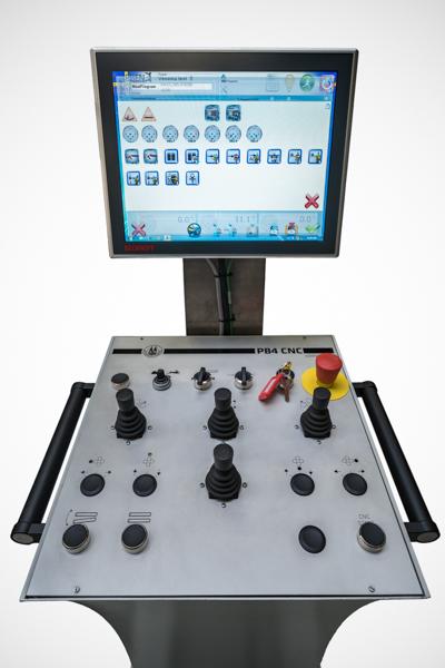 SweBend SEVEN CNC Steuerung für Profilbiegemaschinen und Blechrundbiegemaschinen