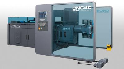 Schwarze-Robitec Rohrbiegemaschine mit CNC Steuerung