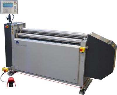 Nosstec 8344 | CNC gesteuerte Blechrundbiegemaschine | Luna AB
