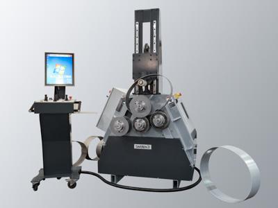 SweBend PB4 vier Rollen Profilbiegemaschine mit SEVEN CNC Steuerung