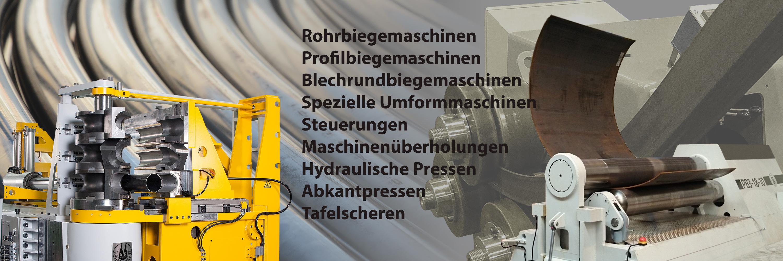 Venema Biegetec GmbH | Rohrbiegemaschinen | Profilbiegemaschinen | Blechrundbiegemaschinen | Spezielle Umformmaschinen | Steuerungen | Maschinenüberholungen| Hydraulische Pressen | Abkantpressen | Tafelscheren | Service |