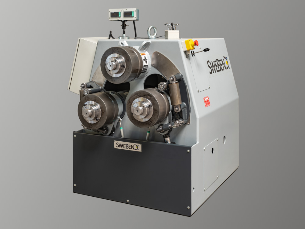 Venema Biegetec GmbH | SweBend AB | SB3 drei Walzen profilbiegemaschine